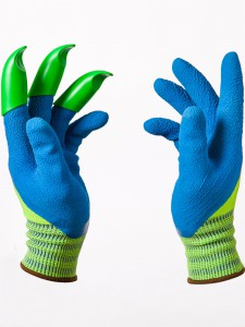 Click here to purchase Honey Badger Garden Gloves. Use coupon code 'ORGVIEW' to receive 20% off!