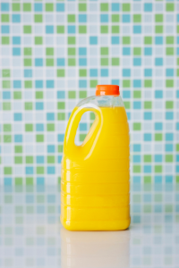 orange juice container