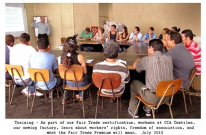 fair trade training for workers