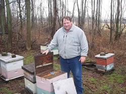 Commercial Beekeeper, Jim Doan is now out of business due to pesticide exposure