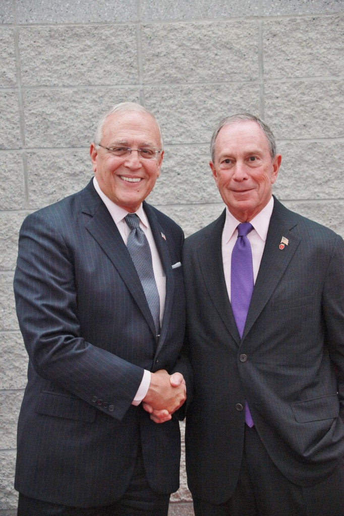 Mr. Robert Catell with former New York City Mayor, Michael Bloomberg