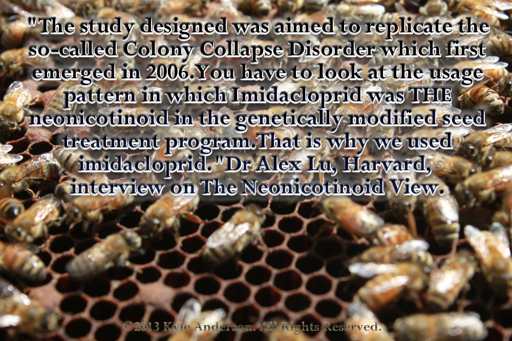 The study designed was aimed to replicate the so-called Colony Collapse Disorder