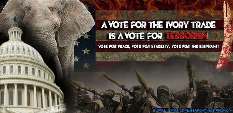 A Vote For The Ivory Trade Is A Vote For Terrorism
